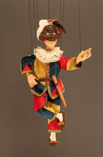 Small Harlequin Marionette
